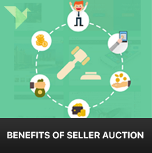 Benefits for sellers by participating in online auction