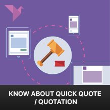 Everything you wanted to know about Quick quote or Quotation