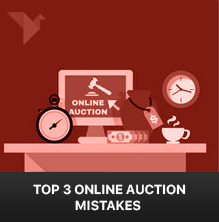 Top 3 Online auction mistakes even the novice bidders make